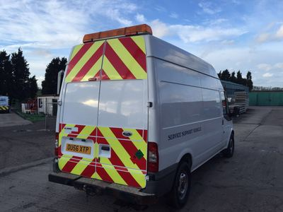 North Notts Trucks Ltd - FORD TRANSIT MOBILE WORKSHOP VAN